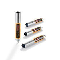 Sensore di temperatura senza contatto / ad infrarossi / di precisione / con display LED