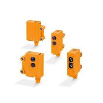 Sensore fotoelettrico a riflessione diretta / retroriflettente / a barriera / rettangolare