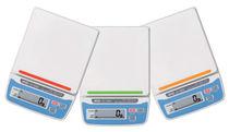 Bilancia benchtop / con display LCD / in acciaio inossidabile / compatta