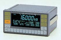 Indicatore controllore di peso a tenuta stagna / da montare su pannello