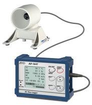 Registratore di dati di portata d'aria / USB / con display / ambientali