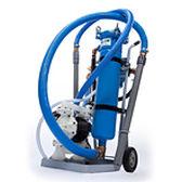 Filtro per liquidi / idraulico / a borsa / compatto