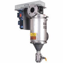 Filtro per liquidi / con cestello / autopulente / per alta temperatura