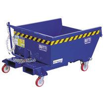 Contenitore ribaltabile per carrello elevatore / per carrello elevatore