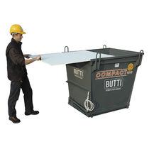 Cassetta in acciaio / per movimentazione / per uso industriale / per rifiuti