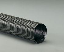 Tubo flessibile in tessuto / per l'acqua / alta temperatura / rivestito di silicone
