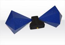 Antenna a larga banda / biconica / mobile / di misura