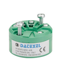 Trasmettitore di temperatura su testa di sonda / RTD / 2 cavi / 4 cavi