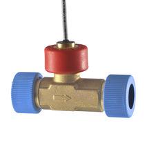Sensore di portata a turbina / per liquido / in linea