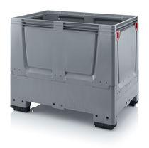 Cassa-pallet in plastica / per movimentazione / da trasporto / con coperchio