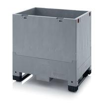 Cassa-pallet in plastica / per trasporto pesante / per prodotti alimentari / pieghevole