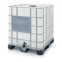 Cisterna IBC in plastica / per liquidi / per prodotti pericolosi / di stoccaggio