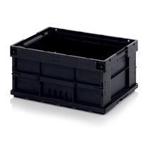 Cassetta in plastica / pieghevole / conduttrice