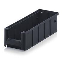 Cassetta in plastica / di stoccaggio / impilabile / conduttrice