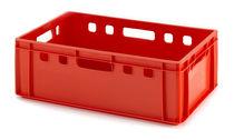 Cassa in plastica / di stoccaggio / per trasporto pesante / per prodotti alimentari