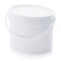 Secchio ovale / in plastica