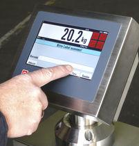 Indicatore di temperatura / con touch screen / da montare su pannello