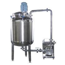 Mescolatore dinamico / discontinuo / per polvere / per l'industria agroalimentare