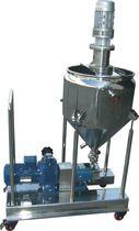 Pompa per prodotti agroalimentari / elettrica / a lobi / con serbatoio