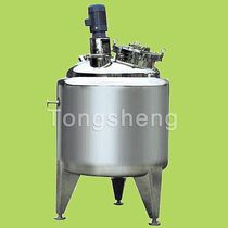 Serbatoio per prodotti viscosi / in acciaio inossidabile / verticale