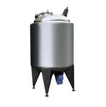 Serbatoio in acciaio inossidabile / di stoccaggio / verticale