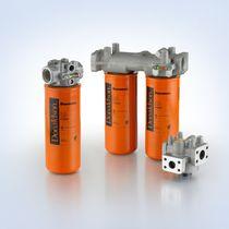 Filtro idraulico / con cestello / in linea / ad alta portata