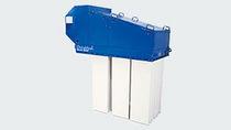 Depolveratore a maniche / con rimozione pneumatica / autonomo / a forte carico