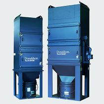Depolveratore a maniche / a pulizia meccanica / compatto / per polvere abrasiva