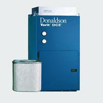 Collettore per nebbia per olio / a materiale filtrante / per installazione su macchine