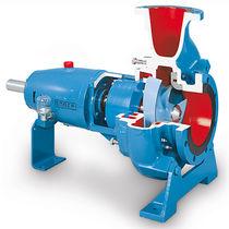 Pompa per acque cariche / elettrica / centrifuga / per l'industria chimica