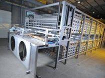 Refrigeratore a spirale / per l'industria alimentare