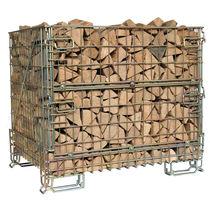 Cassa-pallet in rete metallica / di stoccaggio / da trasporto / pieghevole