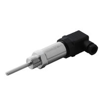 Sensore di temperatura a resistenza / Pt100 / filettato / con flangia