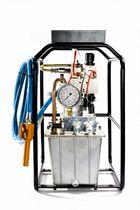 Pompa azionata ad aria / ad alta portata / robusta / compatta