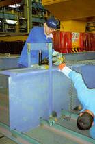 Cilindro idraulico / a semplice effetto / ad uso polivalente