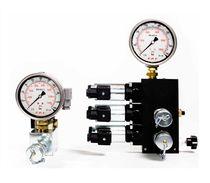 Valvola a comando idraulico / per olio / 3 vie