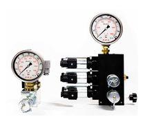 Valvola a comando idraulico / per olio / a 4/3 vie