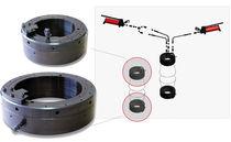 Dado idraulico per cuscinetti / per raccordo ad anello / metallo