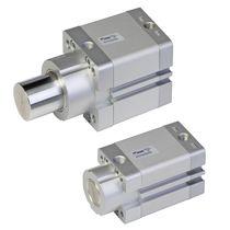 Cilindro pneumatico / a semplice effetto / a doppio effetto / con asta attraversante