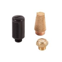 Silenziatore di regolazione della pressione / per aria compressa