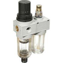 Filtro regolatore lubrificatore ad aria / per aria compressa