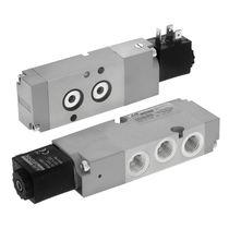 Elettrovalvola a 3/2 vie / pneumatica / Namur / in alluminio