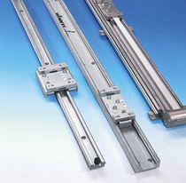 Guida lineare a pattino / in acciaio / su rotaia profilata