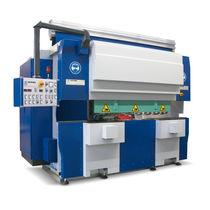 Rettificatrice piana / per lamiera metallica / CNC / ad alte prestazioni