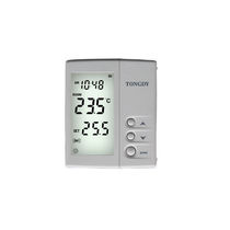 Termostato d'ambiente / con display digitale / on/off / per riscaldamento e condizionamento