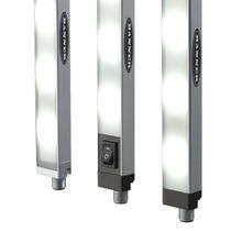 Dispositivo di illuminazione barra di illuminazione / a lampada fluorescente / per macchina utensile / per postazione di montaggio
