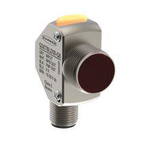 Sensore di contrasto laser / con soppressione di sfondo / rettangolare / in metallo