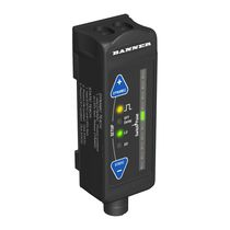 Sensore di contrasto rettangolare / in fibra ottica / IP67