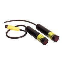 Sensore fotoelettrico cilindrico / laser / luce rossa / rinforzato