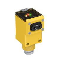 Sensore fotoelettrico rettangolare / infrarosso / in fibra ottica / rinforzato